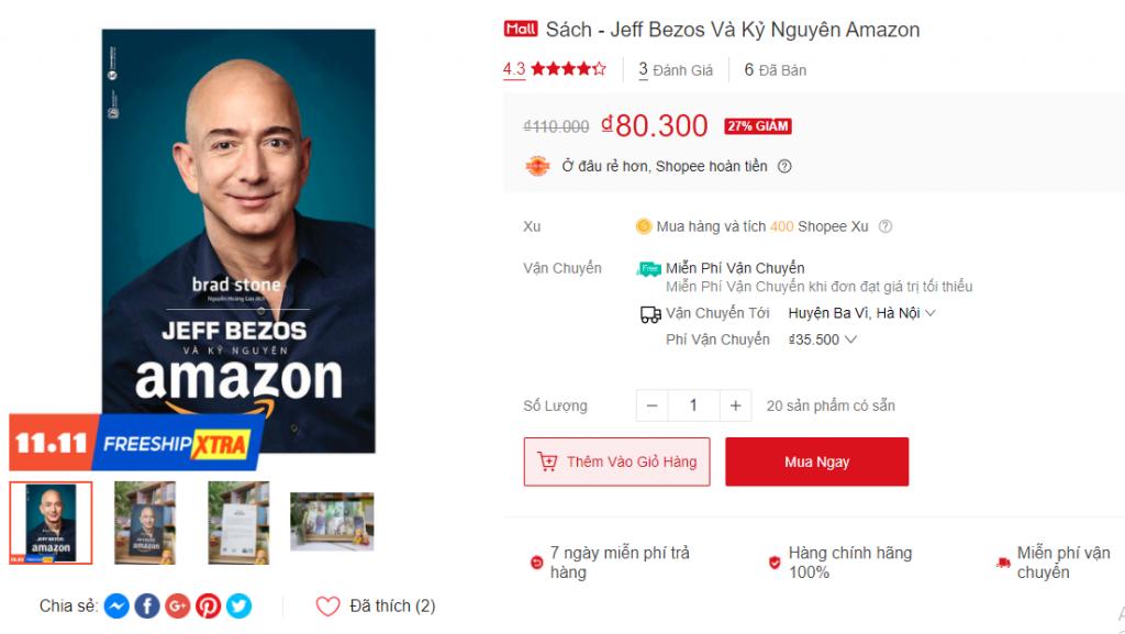 jefff Bezos  amazon Shopee